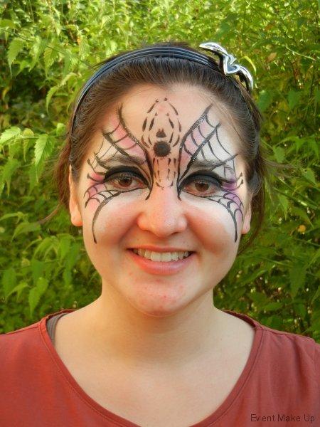 Spinnen-Lady